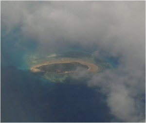 Figure 1:  View of Changuu Island from the air