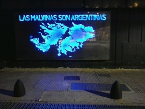 """Malvinas are Argentinian"" – School of National Defense (EDENA), Buenos Aires"