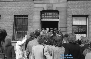 The liberation of the inmates, 6 May 1945