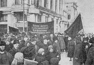 crowds Kropotkin death