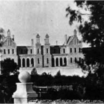 Figure 1: Fremantle Lunatic Asylum, c 1870s, State Library of Western Australia. Call No. 5770B/48