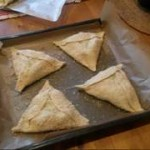 My non-flaounes flaounes, before baking