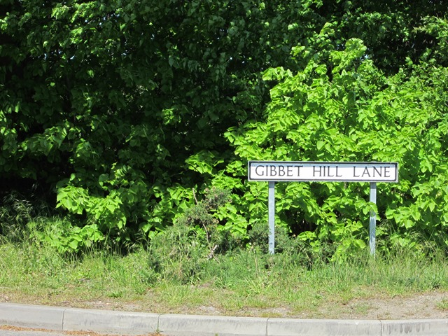 The location of Spence's gibbet near Scrooby has left a mark in the road name.