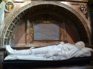 Tomb of Montrose, St Giles, Edinburgh. Source: Wikimedia Commons.