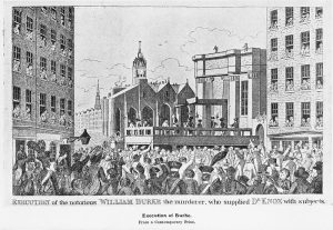 The Execution of William Burke, taken from Wikimedia Commons.
