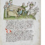 The Pope tumbles from a cart