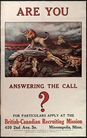 are you answring the call poster