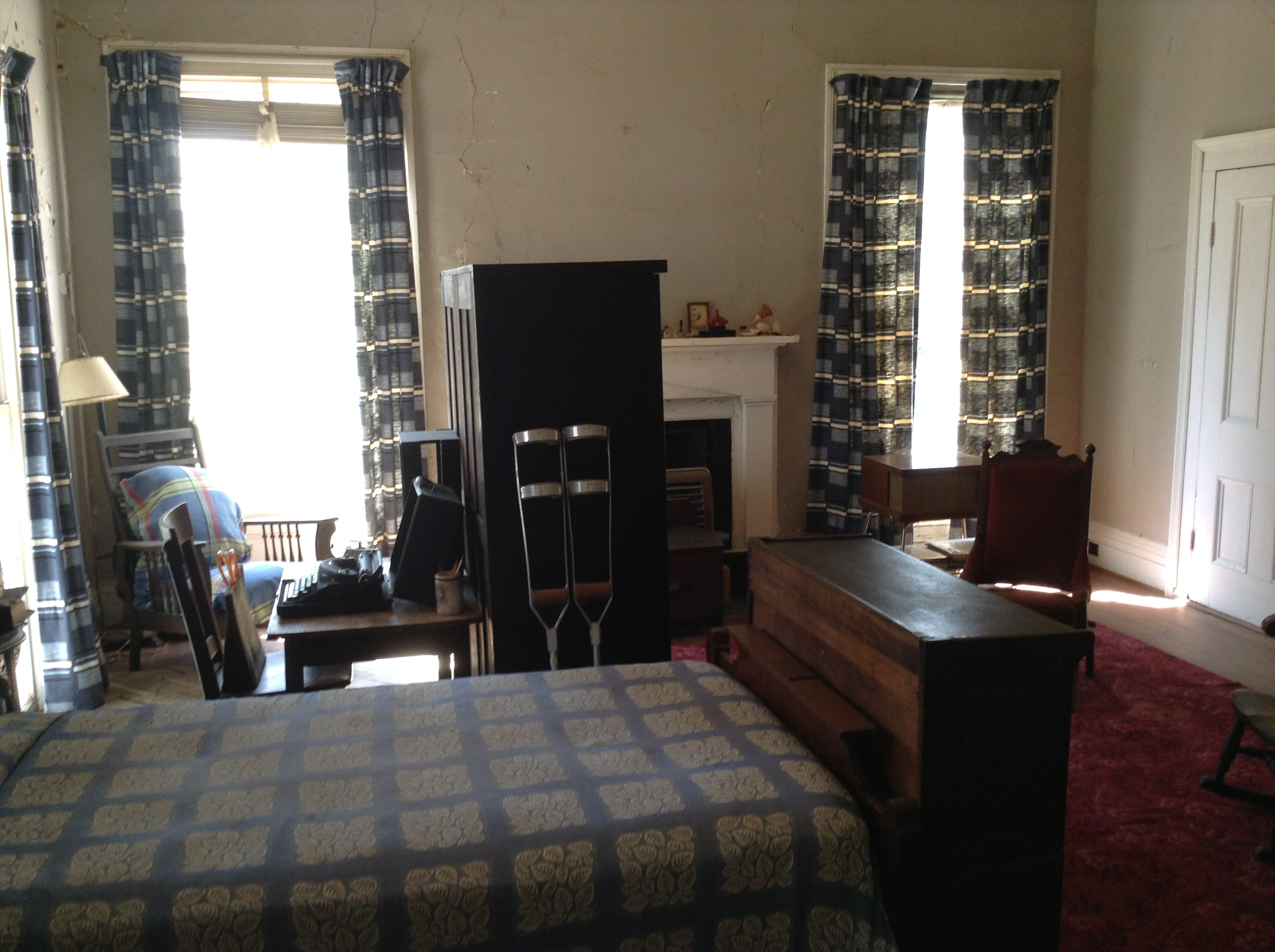 university of leicester staff blog school of english flannery o flannery o connor s bedroom