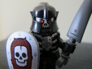 Evil Lego Skeleton Knight