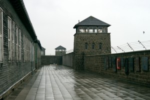 Mauthausen guard house and barracks