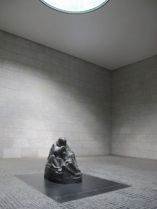 Sculpture of 'Mother with her dead son' instead the memorial