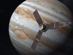 Artists rendition of the Juno spacecraft. Credit: NASA/JPL/SwRI