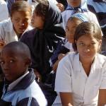 School children. Image courtesy of Wikimedia Commons