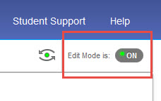 edit mode button