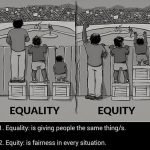 #equality but I still don't know what banks mean by #equity (CC BY 2.0) by  leighblackall