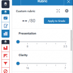 GradeMark rubrics – what are they and how can you use them?