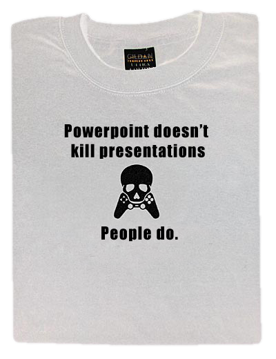 powerpoint doesn't kill presentations, people do