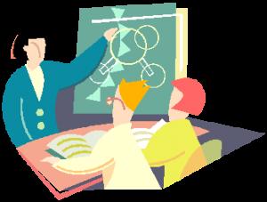 Teaching input