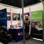 Barbara at the Museums Association Conference in Cardiff