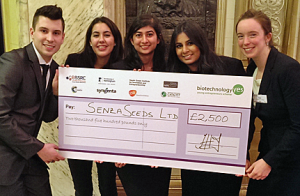 Biotechnology YES 2014 winners photo
