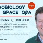 Charles Cockell on Astrobiology: National Space Centre Q&A