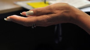 Picture of Hand from Research Data Video