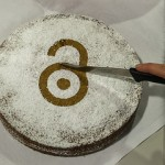 Open Access cake! CC Slub Dresden.