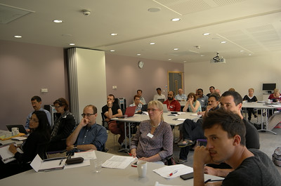 ETD2014 delegates watching a workshop presentation