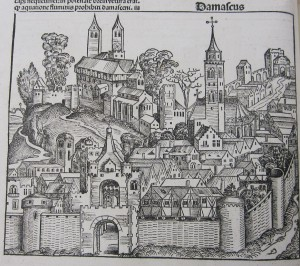 Woodcut from Hartmann Schedel, Liber Chronicarum [Nuremberg Chronicle] (Nuremberg, 1493) (SCD 00390)