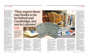 More Mercury, 6 September 2014 (by permission of Leicester Mercury)