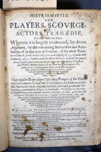 Histrio-Mastix. The Players Scourge, or, Actors Tragedie (London, 1633) SCM 04549