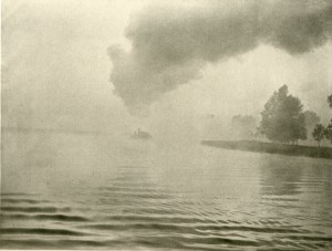 'The Misty River', P. H. (Peter Henry) Emerson, 'Marsh Leaves', (London, 1895), pl. VIII, SCM 08575.  University of Leicester Special Collections.
