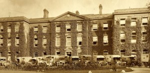The 5th Northern General Hospital during WW1 (University of Leicester Archives)