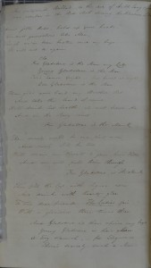 Ballad, sung to the tune of 'Auld Lang Syne' by supporters of W. E. Gladstone during the 1832 election campaign (SCM 08352).