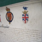 University Grant of Arms, after cleaning
