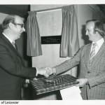 40 years ago: Philip Larkin opens new University library