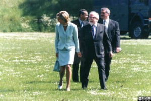 Diana, Princess of Wales and Richard Attenborough, 1997