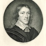 Engraved portrait of John Evelyn by W. H. Worthington, from an original painting by Walker.  From the Fairclough Collection, EP36, Box 3, p. 310.