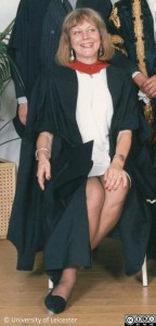Sue Townsend honorary degree 1991