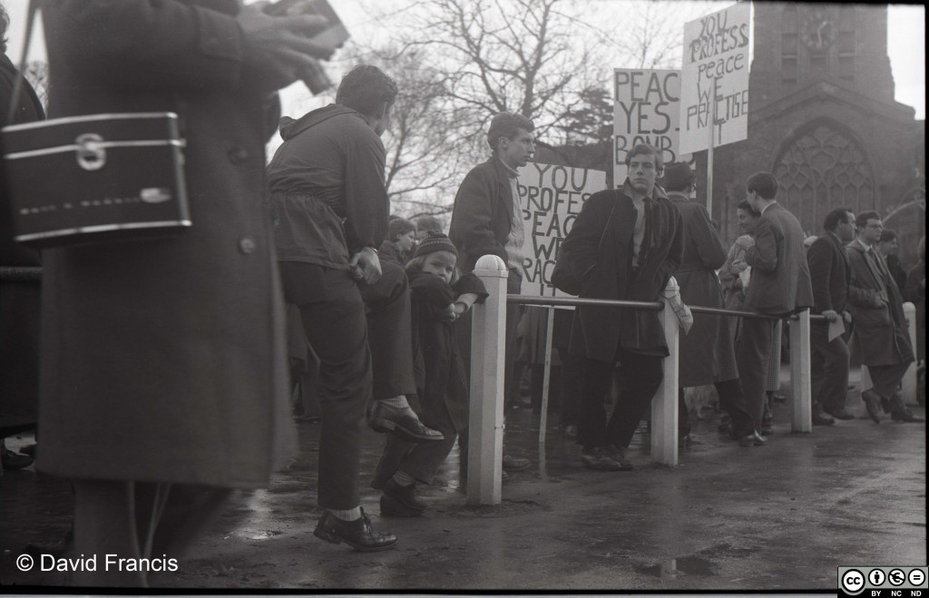 Brize Norton Protests, December 1961