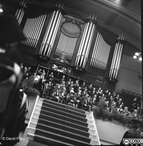 Graduation Ceremony at De Montfort Hall, 1963