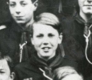 David Attenborough in the cub scouts (Leicester Mercury Archive at the University of Leicester)
