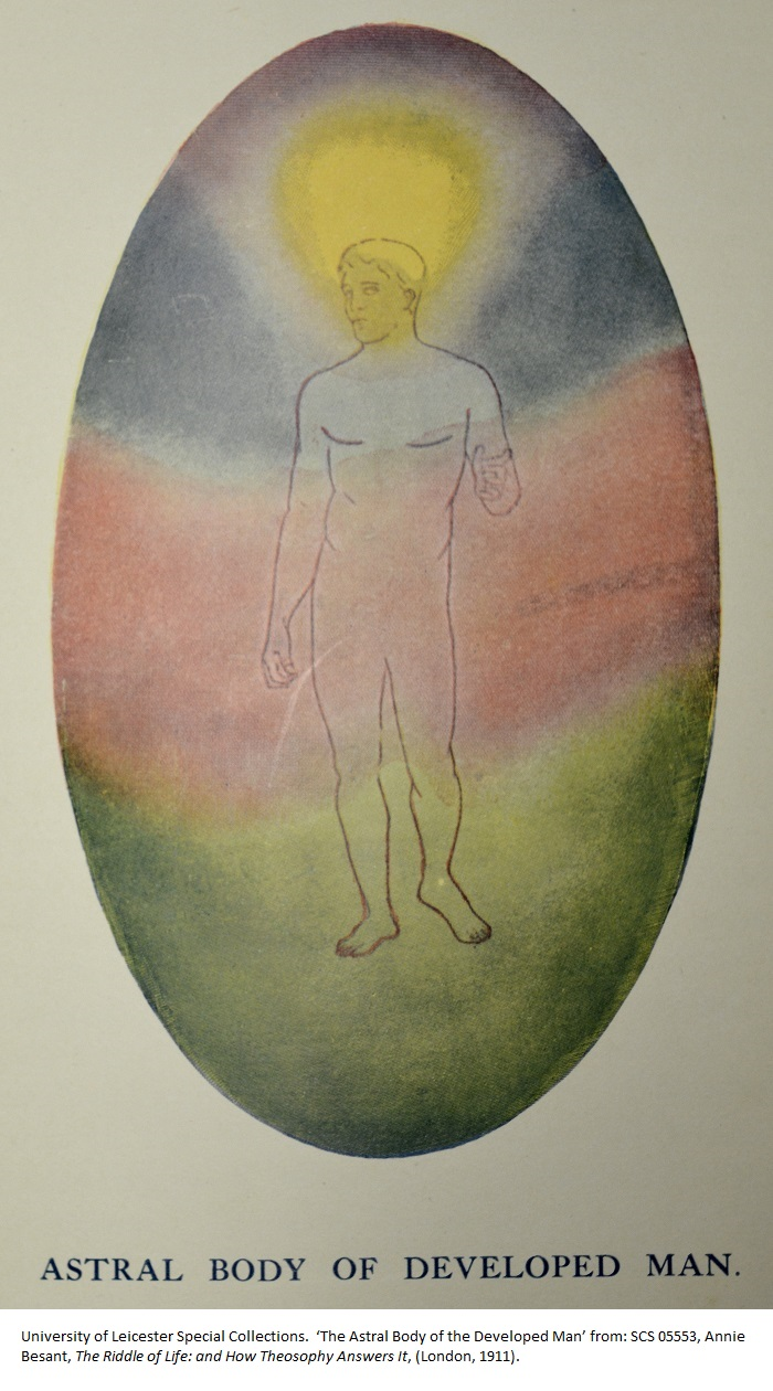 'The Astral Body of the Developed Man' from: SCS 05553, Annie Besant, The Riddle of Life: and How Theosophy Answers It, (London, 1911).