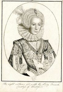 University of Leicester Special Collections. Engraved portrait of Frances Stuart (née Howard), Duchess of Richmond and Lennox, from the Fairclough Collection, (undated), EP42B/Box 3/R.