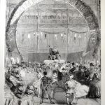 6.	University of Leicester Special Collections.  The Christmas revels at Crystal Palace in 1859 from: Illustrated London News, (London, 8 January 1859), OVERSIZE PER 050 I1195.