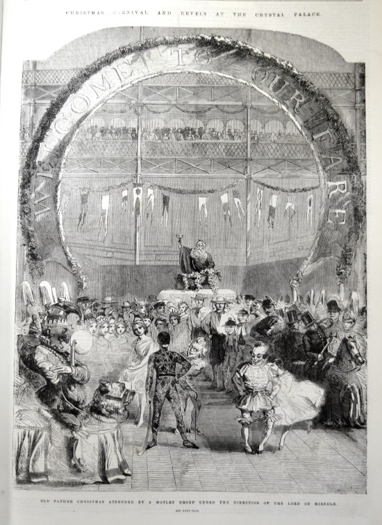 6.University of Leicester Special Collections. The Christmas revels at Crystal Palace in 1859 from: Illustrated London News, (London, 8 January 1859), OVERSIZE PER 050 I1195.