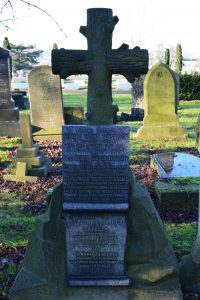 Photograph of Teasdale family monument, Welford Road cemetery, Leicester (Image: University of Leicester)