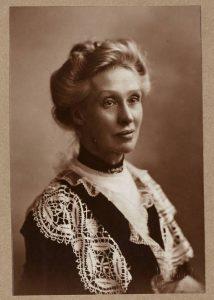Photograph of Agnes Archer Evans (1848-1924), ULA/HIS/FOU/2, Memorial Portraits