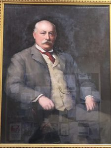 Portrait of Harry Simpson Gee, University of Leicester