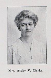 Photograph of Ethel (Poppy) Clarke, taken from programme for 1922 Bazaar and Fete, ULA,/D2/1)